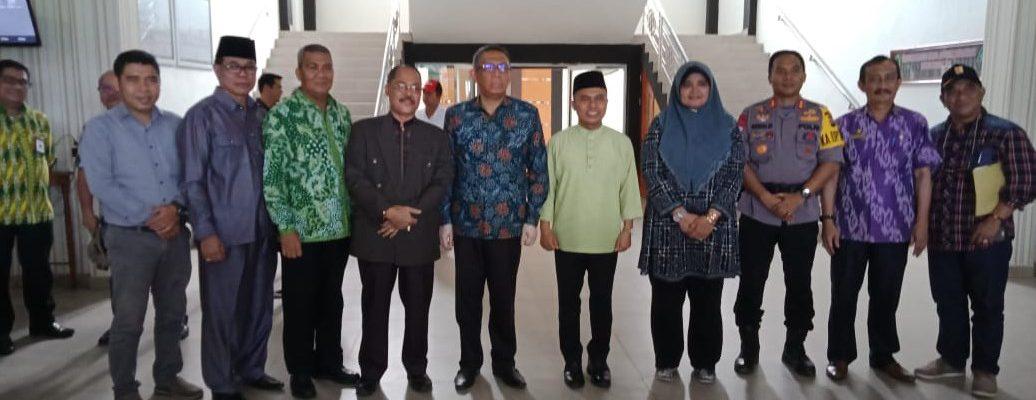 Audiensi Penegerian Dengan Gubernur Kalimantan Barat
