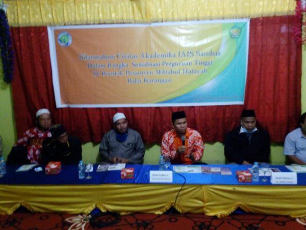 Silaturahmi di Ponpes Miftahul Hidayah Balai Karangan