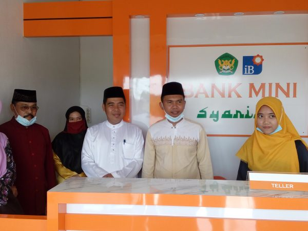 Peresmian Laboratorium Bank Mini Syariah
