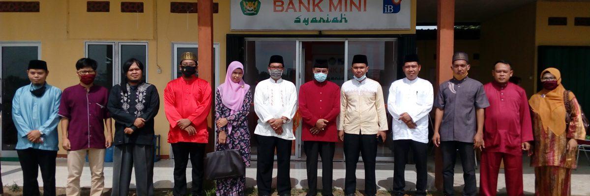 Peresmian Laboratorium Bank Mini Syariah