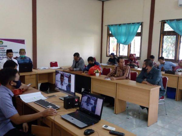 BAN PT Lakukan Asesmen Lapangan Daring Program Studi Hukum Tata Negara
