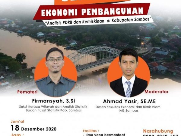Seminar Ekonomi Pembangunan