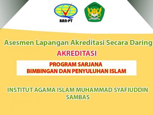 Penilaian Asesmen Daring Prodi Bimbingan dan Penyuluhan Islam