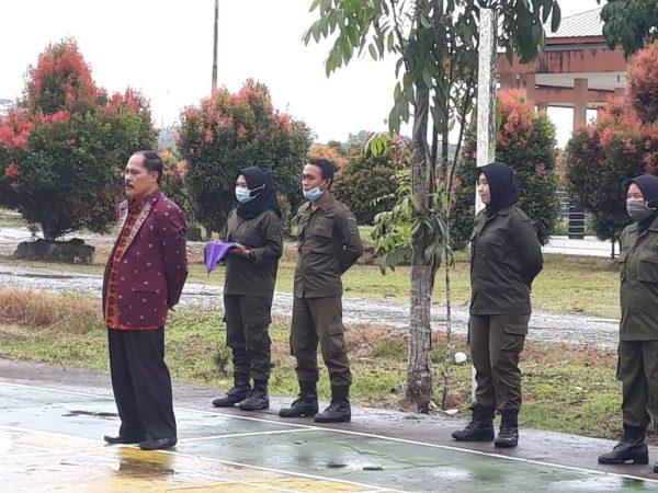 Rektor IAIS Sambas Melepas Resimen Mahasiswa Ikuti Diksar