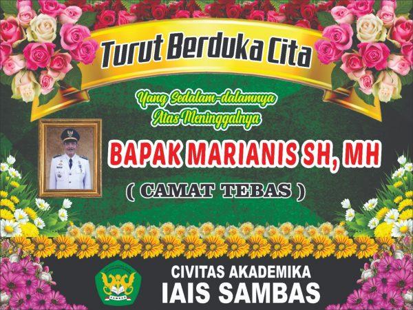 IAIS Sambas Berduka, Bapak Marianis, SH., MH. Tutup Usia