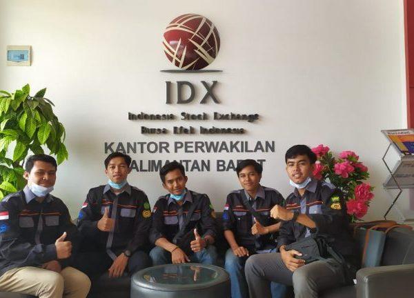 BEM FEBI IAIS Sambas Melakukan Kunjungan dan Silaturahmi ke IDX Bursa Efek Indonesia (BEI)