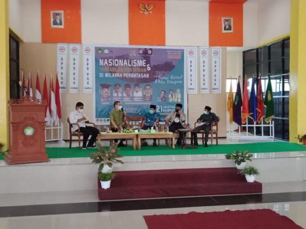 Deklarasi Komitmen Penegerian IAIS Sambas oleh Mahasiswa dan Daniel Johan