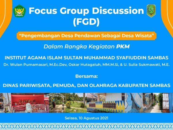 Forum Grup Discussion (FGD) Bersama Masyarakat Desa Pendawan