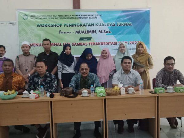 Workshop Peningkatan Kualitas Jurnal IAIS Sambas