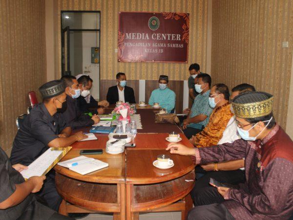Rektor dan Ketua PA Sambas lakukan MONEV Kerjasama